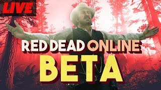 Red Dead Online Beta Gameplay Live