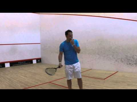 HEAD Microgel 110 Stealth Squash Racket Review by PDHSports.com
