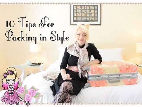 10 Tips To Pack In Style - Win A Hideo Wakamatsu Beauty Case - Violet LeBeaux