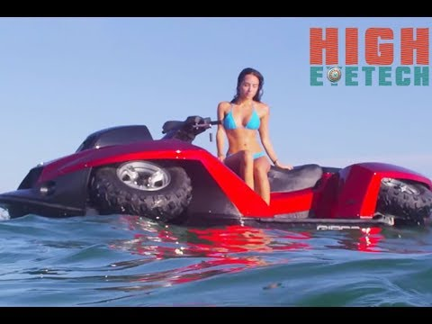 Top 05  Ridiculously Cool Amphibious Vehicles - Water Cars