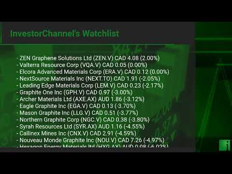 InvestorChannel's Graphite Watchlist Update for Monday, Se ... Thumbnail