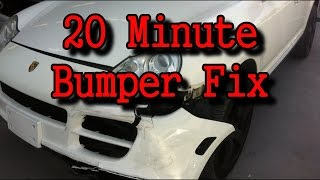 Automotive Collision Repairs-How To Fix A Wrecked Bumper Cover In 20 Minutes