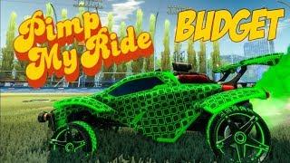 Pimp My Rocket League Ride - 1-10 Key Budget