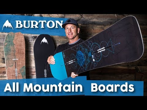 2018 Burton All-Mountain Snowboards – Overview – 4K – TheHouse.com