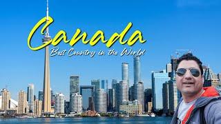 Canada TRAVEL VLOG   Tour Of Toronto, Montreal & Ottawa In Canada