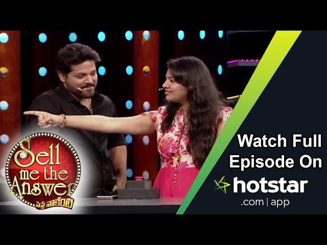 Geetha Madhuri and Nandu at Sell Me The Answer | Anchor Suma | Maa TV