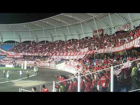 """Verde Cagón - Barón Rojo Sur - América de Cali"" Barra: Baron Rojo Sur • Club: América de Cáli"