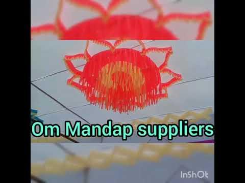 Shamiyana Mandap Ceiling Designs