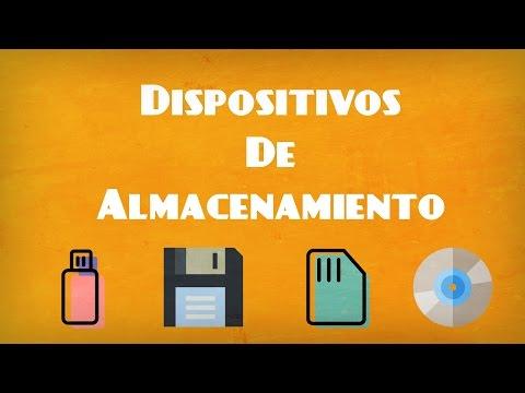 Dispositivos de almacenamiento (definición, características y tipos)