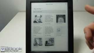 Kobo Aura H2O Review and Walkthrough