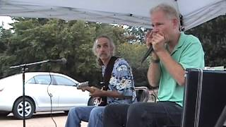 """""""Watermelon Man,"""" The Blues Doctors at the Farmer's Market in Oxford, Mississippi (2012)"""