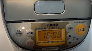 ZojiRushi Rice Cooker - How To Use