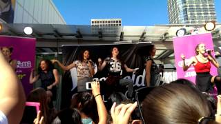 """Come over"" by Cimorelli at Westfield Mall Surprise Concert"