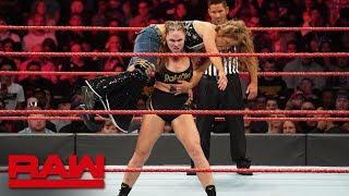 Ronda Rousey vs. Mickie James - Raw Women