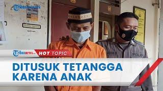 Seorang Warga Lampung Tewas Ditusuk Tetangganya usai Ribut, Pelaku Mengira Korban Mengeroyok Anaknya