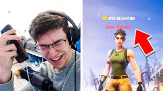 I put my PHONE NUMBER in my FORTNITE Name and DANCED after EVERY Kill... #3