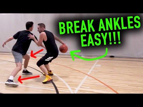 4 Unstoppable Basketball Dribbling Combo Moves | Basketball Scoring Tips (видео)