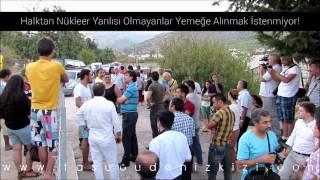 preview picture of video 'Akkuyu NGS Şirketinin İftar Yemeğinde Nükleer Karşıtı Protesto! Mersin/Büyükeceli'