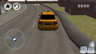 crazy taxi parking game rewiew android//
