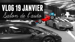 Avant-Première Bénéfice du Salon de l'auto de Montréal   VLOG 19-01-17