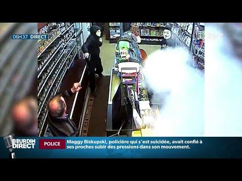 Braqué par deux hommes armés, un buraliste déclenche son générateur de brouillard