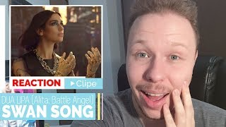 REACTION | DUA LIPA, SWAN SONG (Alita: Battle Angel) || Despretensioso