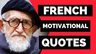 10 French Motivational Quotes ☀️French Quotes With Translation