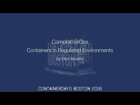Video from Container Days Boston
