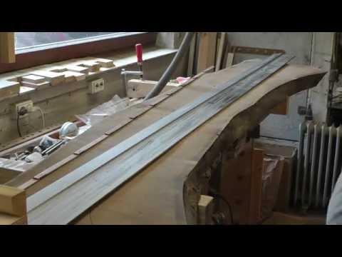 Esszimmertisch 2 - Bau der Tischplatte Teil1