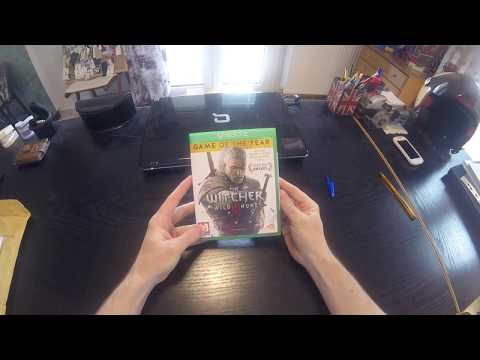 The Witcher 3: Wild Hunt - G O T Y Edition Unboxing