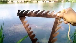 Чертеж донной косы для очистки водоема от травы