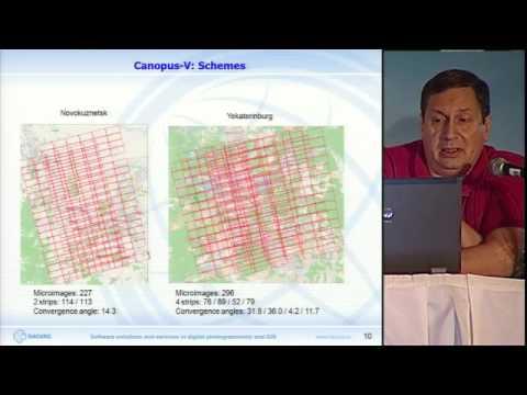 Опыт обработки «Канопус-В» и «Ресурс-П» — методика получения максимальной точности.