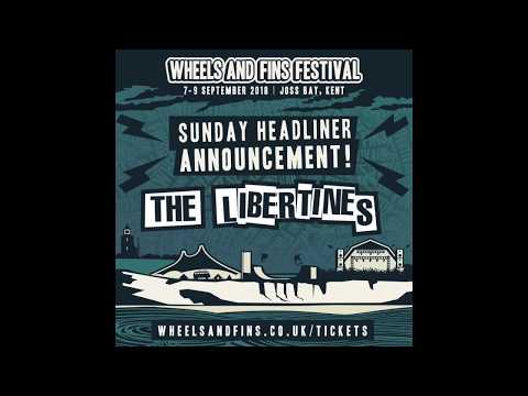 Libertines to headline Wheels And Fins Festival