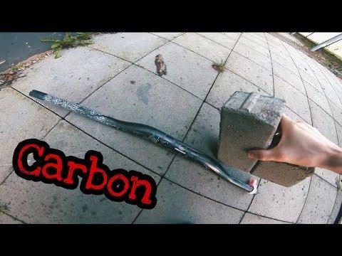 Wie viel hält ein Carbon Lenker aus? Ich versuche meinen zu zerstören!