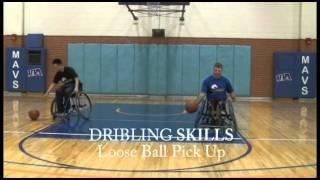 Wheelchair Basketball Dribbling Skills