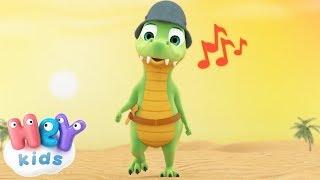 Ay Los Cocodrilos Cancion Infantil   Y Muchas Más Canciones Infantiles    HeyKids