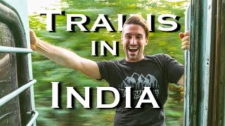 Riding a Train in India | 8 Hours on an Indian Train Rajasthan