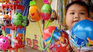Đồ Chơi Trẻ Em Bé Pin Đi Tạp Hóa Mua Đồ Chơi❤ PinPin TV ❤