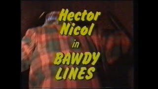 Hector Nicol Bawdy Lines 1981
