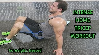 Intense 5 Minute At Home Tricep Workout by Anabolic Aliens
