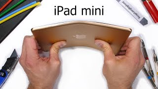 Apple iPad mini (2019) Bend Test! - Do ALL Tablets Break?