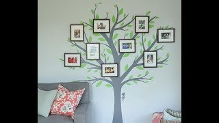 Large Family Tree Wall Decal 2017