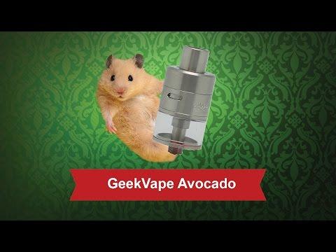 GeekVape Avocado - обслуживаемый бакомайзер - видео 1