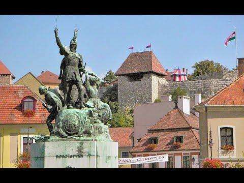 Город Эгер (Венгрия). The town of Eger (Hungary)