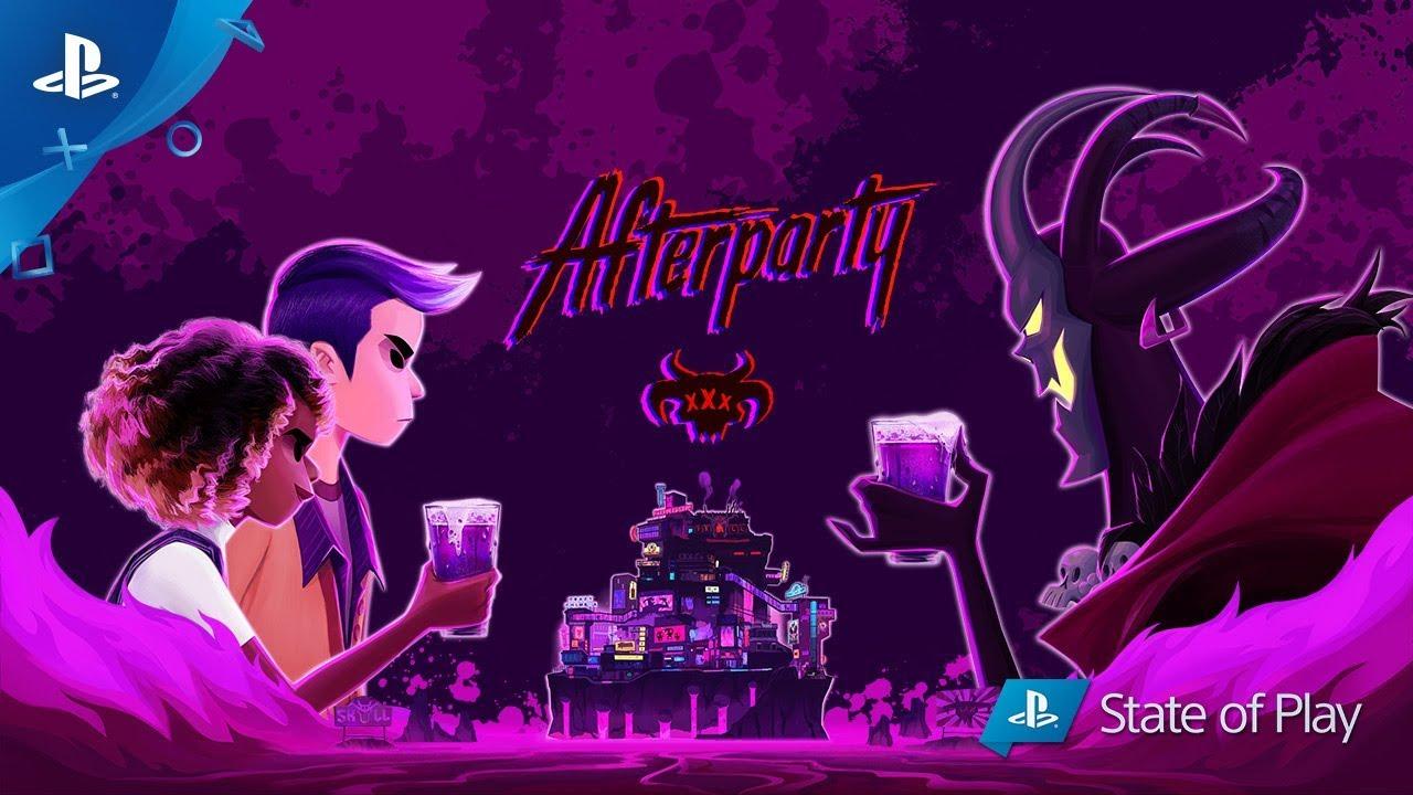 Criando o Submundo Mágico de Afterparty, Disponível dia 29 de Outubro para PS4