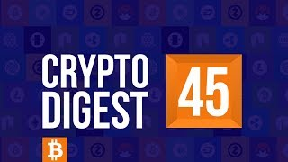 CD #45. Crypto market  grows. EOS goes up. Ripple sees increasedю