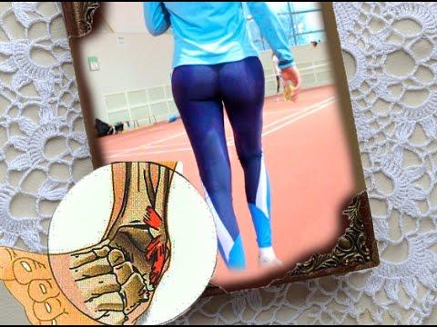 Восстановление голеностопа после травмы. Упражнения для связок.
