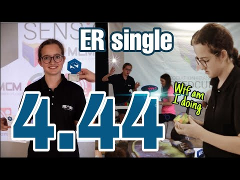 4.44 3x3 European Record single (WR5)