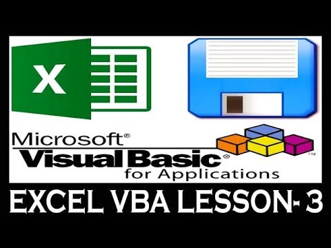 Lesson- 3 || Advance Excel VBA (MIS Project) || How To Refer Cell to Enter Value VBA For Beginners