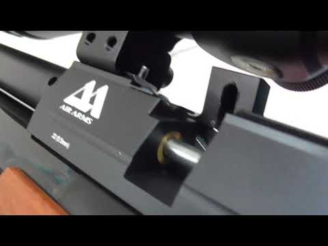 AIR ARMS S510 SL xtra-FAC  22  REGULATOR installation and